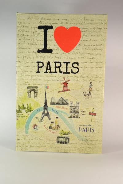 Фото - Книга сейф I love Paris 26 см  купить в киеве на подарок, цена, отзывы
