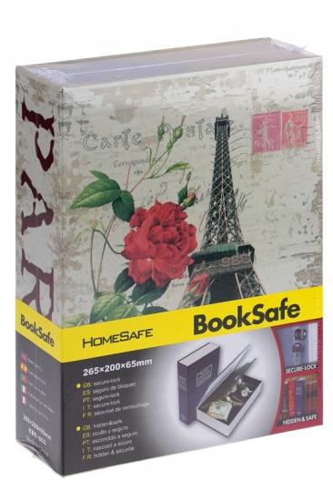 Фото - Книга сейф Париж 24см купить в киеве на подарок, цена, отзывы