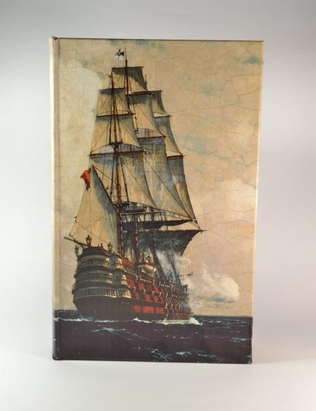 Фото - Книга сейф Парусник 26 см купить в киеве на подарок, цена, отзывы