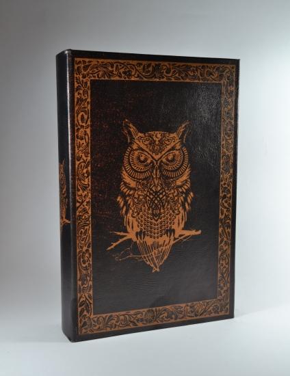 Фото - Книга сейф Сова 26 см купить в киеве на подарок, цена, отзывы