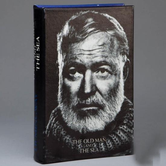 Фото - Книга сейф Старик и Море 26см купить в киеве на подарок, цена, отзывы