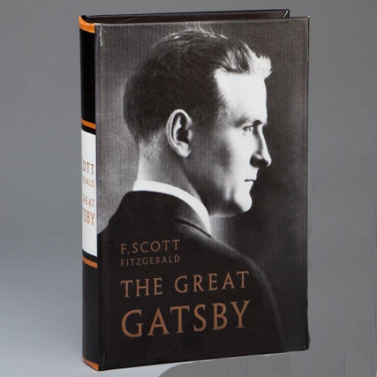 Фото - Книга сейф большой Гэтсби 26 см купить в киеве на подарок, цена, отзывы