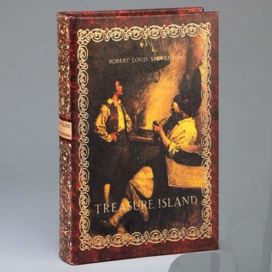 Фото - Книга сейф Остров сокровищ 26 см купить в киеве на подарок, цена, отзывы