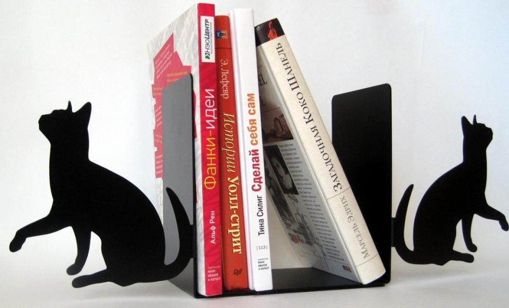 Фото - Книгодержатель Кошка купить в киеве на подарок, цена, отзывы