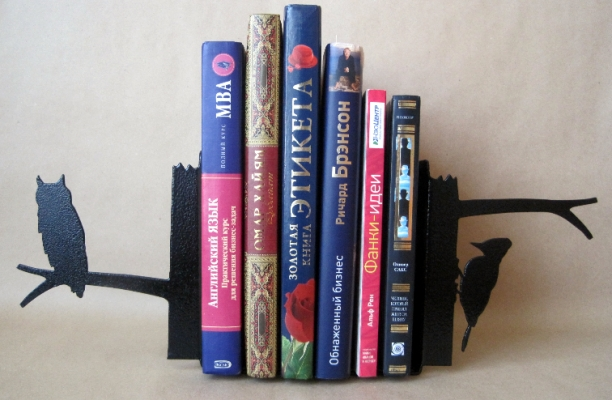 Фото - Книгодержатель Сова купить в киеве на подарок, цена, отзывы
