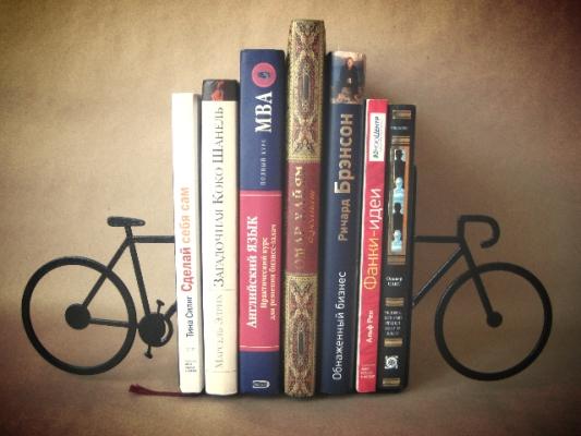 Фото - Книгодержатель Велосипед купить в киеве на подарок, цена, отзывы