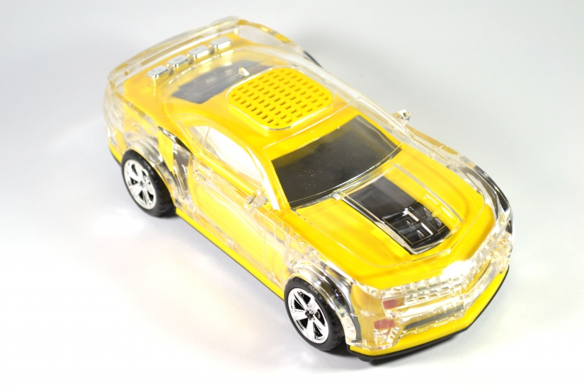 Фото - Колонка - Машинка Сhevrolet camaro (колонка, плеер mp3, радио) купить в киеве на подарок, цена, отзывы