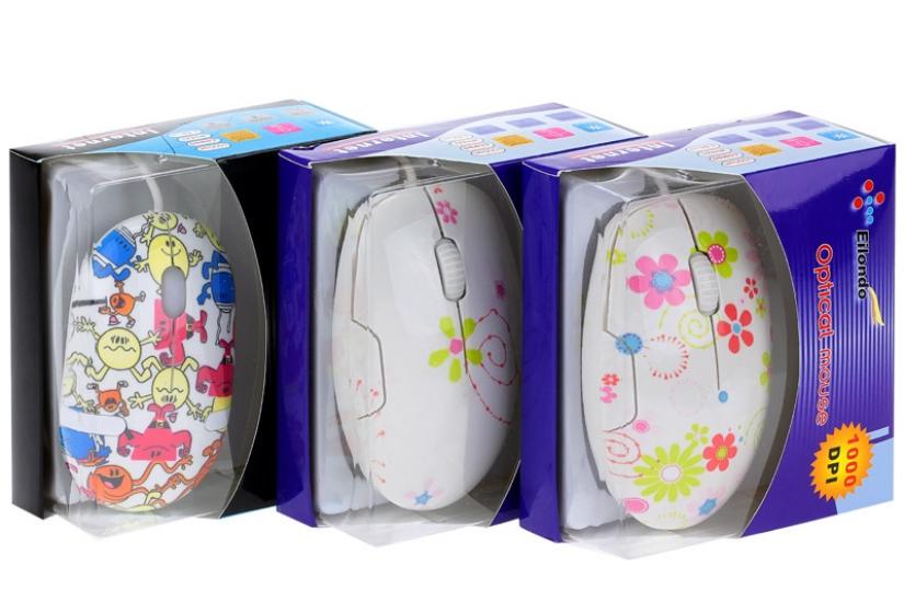 Фото - Компьютерная мышь цветочки купить в киеве на подарок, цена, отзывы