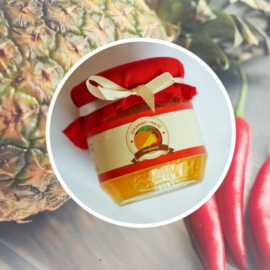 Фото - Конфитюр ананас чили купить в киеве на подарок, цена, отзывы