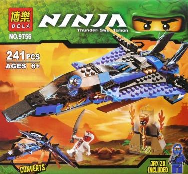 Фото - Конструктор Ninja штормовой истребитель Джея купить в киеве на подарок, цена, отзывы