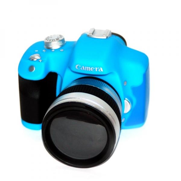 Фото - Копилка Фотоаппарат  голубой купить в киеве на подарок, цена, отзывы