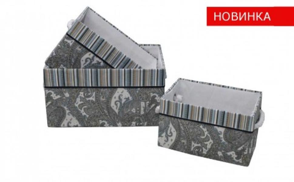 Фото - Корзина стеллажная Орнамент без крышки TB27S-L купить в киеве на подарок, цена, отзывы