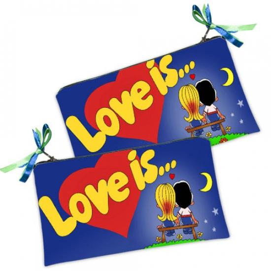 Фото - Косметичка-кошелек Love is купить в киеве на подарок, цена, отзывы