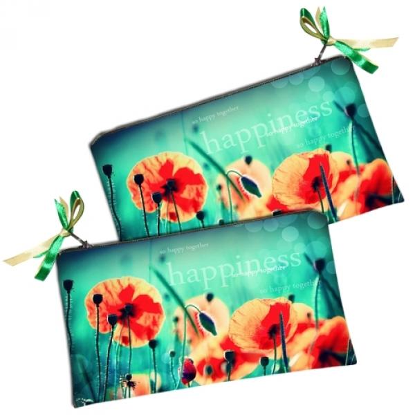 Фото - Косметичка - кошелек Happiness купить в киеве на подарок, цена, отзывы