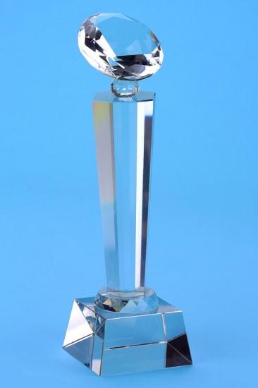 Фото - Кубок хрустальный алмаз купить в киеве на подарок, цена, отзывы