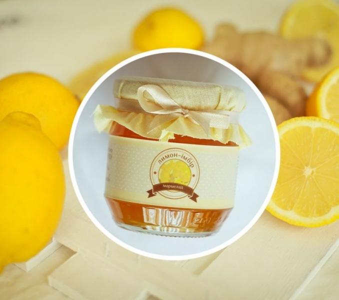Фото - Лимонно-имбирный мармелад 200 г купить в киеве на подарок, цена, отзывы