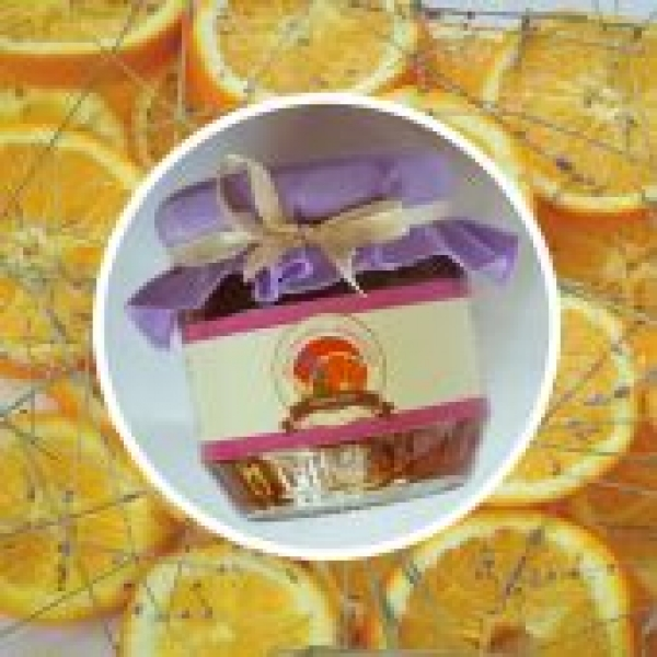 Фото - Мармелад с апельсина и лаванды 200 г купить в киеве на подарок, цена, отзывы