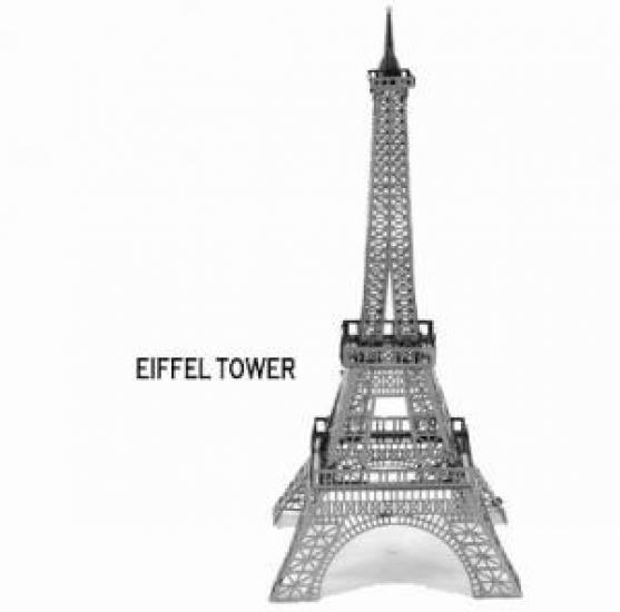 Фото - Металлический конструктор Эйфелева башня купить в киеве на подарок, цена, отзывы
