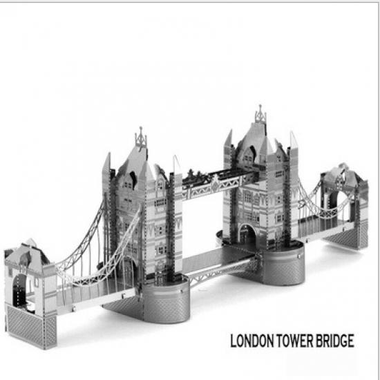 Фото - Металлический конструктор London Tower Bridge купить в киеве на подарок, цена, отзывы