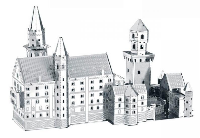 Фото - Металлический конструктор Монастырь купить в киеве на подарок, цена, отзывы