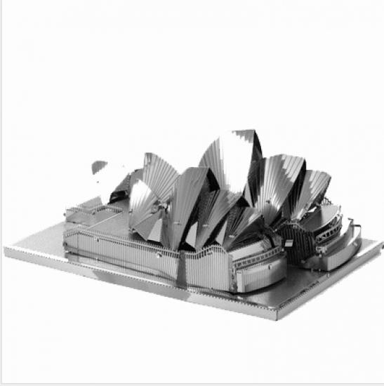 Фото - Металлический конструктор Опера Сиднея купить в киеве на подарок, цена, отзывы