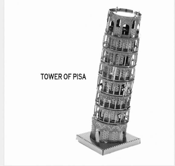 Фото - Металлический конструктор Пизанская башня купить в киеве на подарок, цена, отзывы