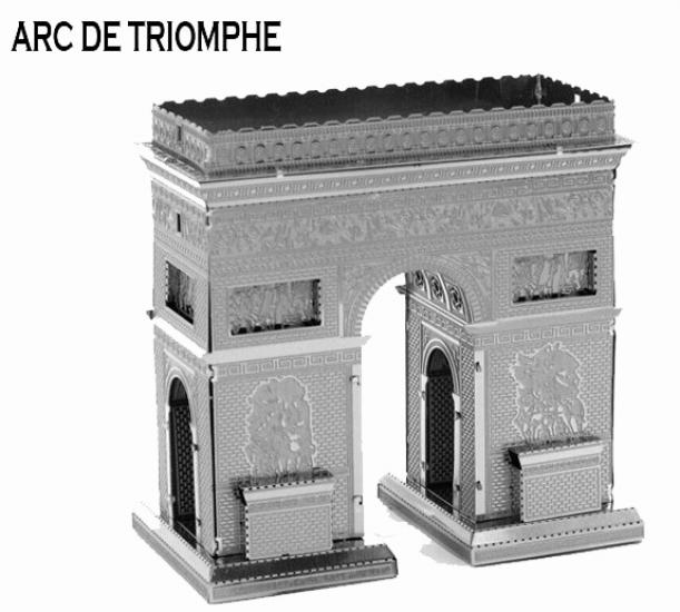 Фото - Металлический конструктор  Триумфальная Арка купить в киеве на подарок, цена, отзывы