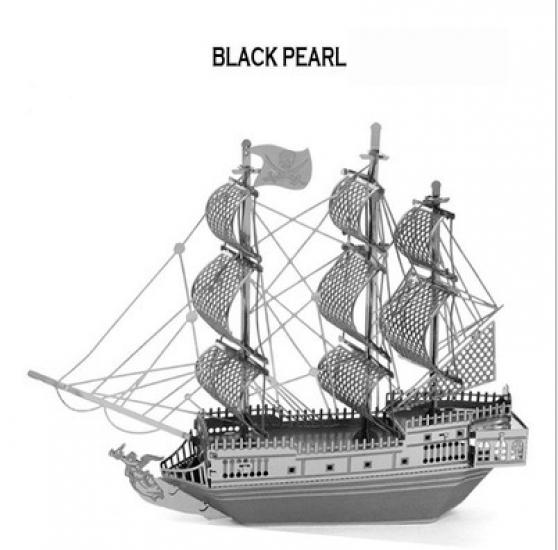 Фото - Металлический конструктор  черная жемчужина купить в киеве на подарок, цена, отзывы