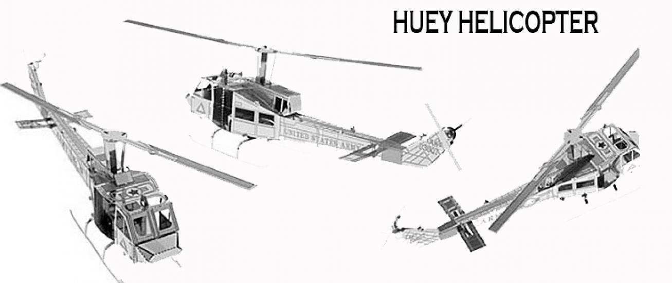 Фото - Металлический конструктор вертолет купить в киеве на подарок, цена, отзывы