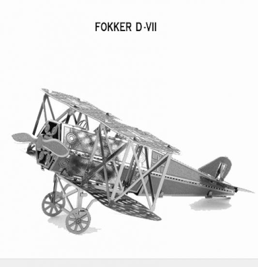 Фото - Металлический конструктор Fokker купить в киеве на подарок, цена, отзывы