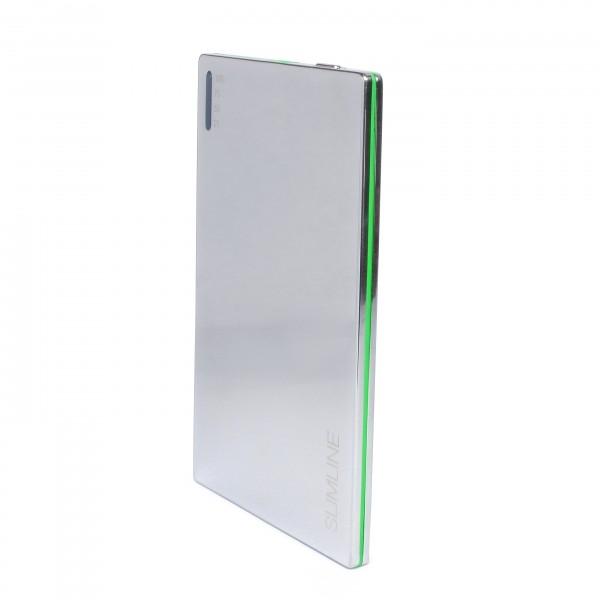 Фото - Мобильный аккумулятор Extradigital SLIMLINE chrome купить в киеве на подарок, цена, отзывы