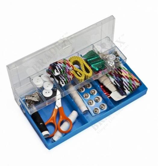 Фото - Набор для шитья, 100 предметов в пластиковой коробке купить в киеве на подарок, цена, отзывы