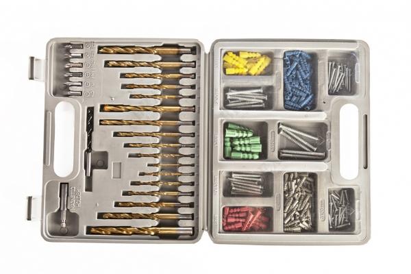 Фото - Набор для сверления, 301 предмет МАСТЕР купить в киеве на подарок, цена, отзывы