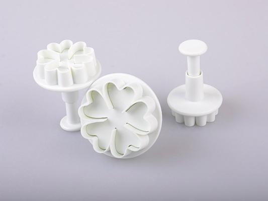Фото - Набор плунжеров для мастики и марципана Цветок купить в киеве на подарок, цена, отзывы