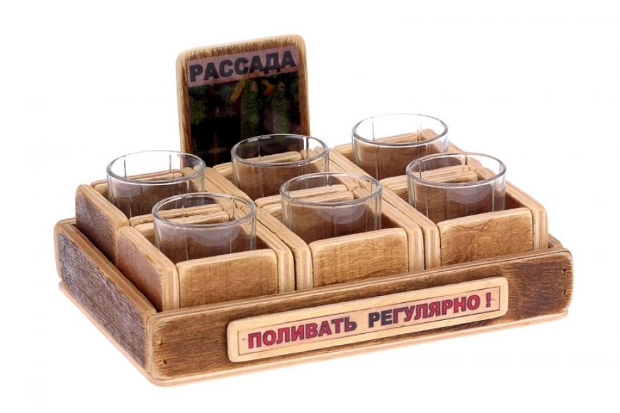 Фото - Набор стопок для рассады купить в киеве на подарок, цена, отзывы