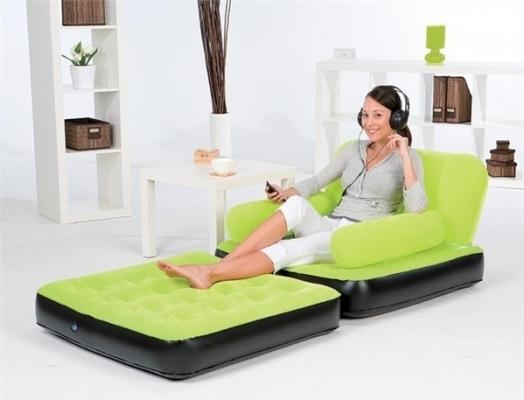 Фото - Надувное кресло раскладное  купить в киеве на подарок, цена, отзывы