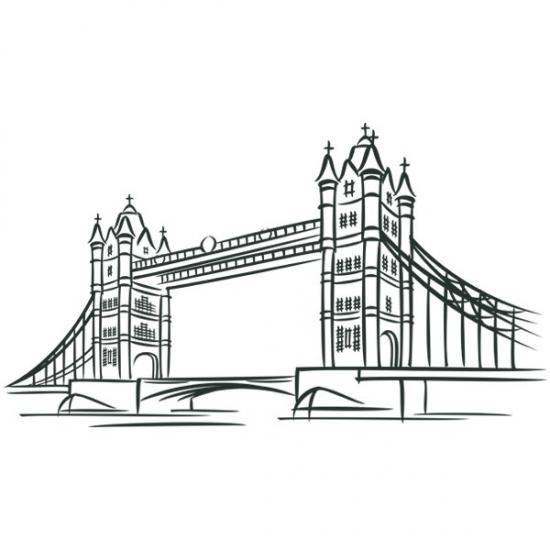 Фото - Наклейка Декоративная London Bridge купить в киеве на подарок, цена, отзывы