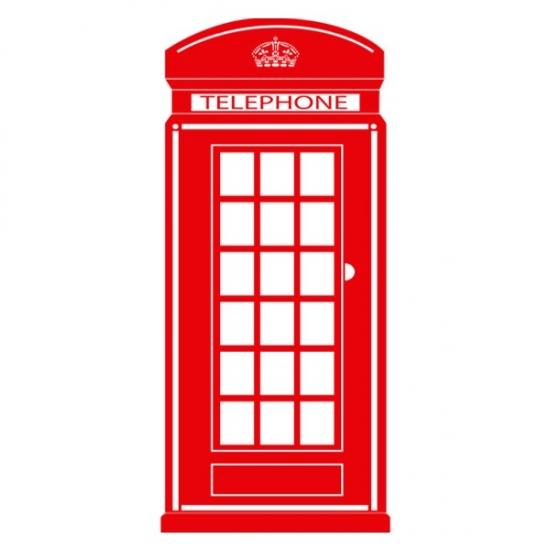 Фото - Наклейка Декоративная Teelephone купить в киеве на подарок, цена, отзывы