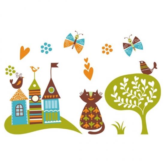 Фото - Наклейка Детская Far Away Kingdom купить в киеве на подарок, цена, отзывы