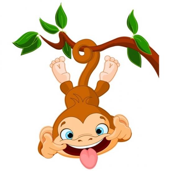 Фото - Наклейка Детская Funny Monkey купить в киеве на подарок, цена, отзывы