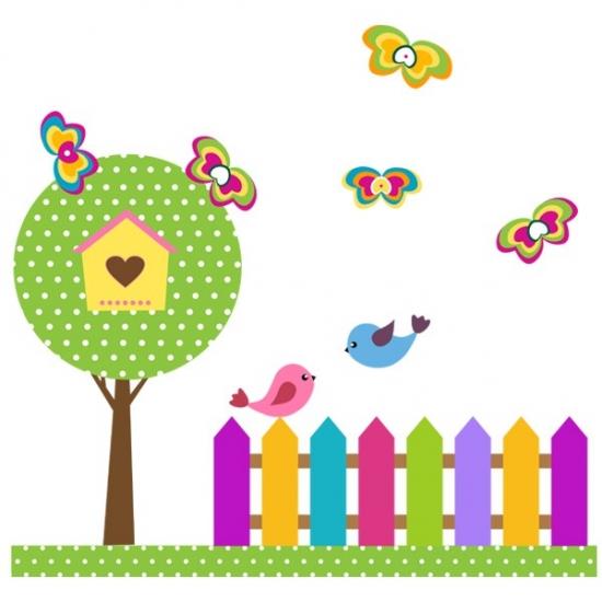 Фото - Наклейка Детская Garden купить в киеве на подарок, цена, отзывы