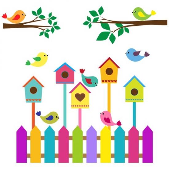 Фото - Наклейка Детская Nesting Box купить в киеве на подарок, цена, отзывы