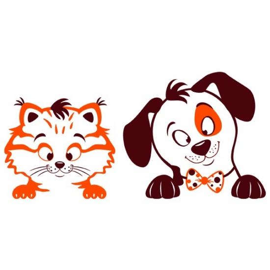 Фото - Наклейка Детская Pets купить в киеве на подарок, цена, отзывы