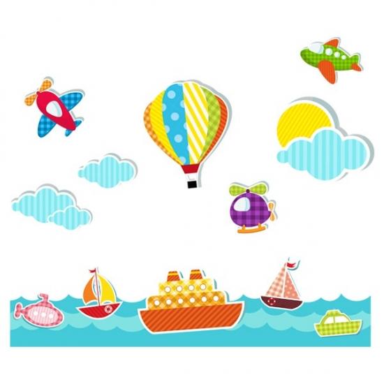 Фото - Наклейка Детская Voyage купить в киеве на подарок, цена, отзывы