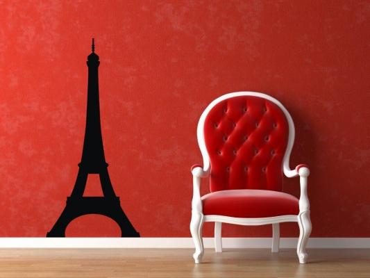 Фото - Наклейка Эйфелева башня Big купить в киеве на подарок, цена, отзывы