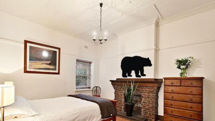 Фото - Наклейка Медведь бол купить в киеве на подарок, цена, отзывы