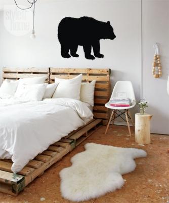 Фото - Наклейка Медведь мал купить в киеве на подарок, цена, отзывы