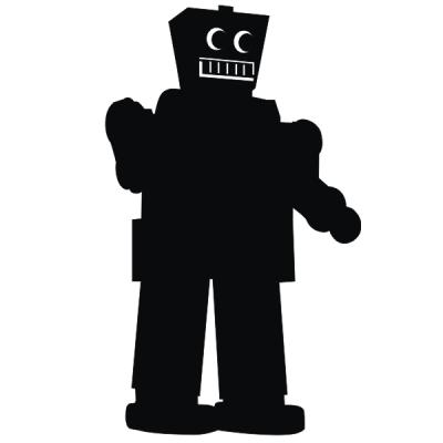 Фото - Наклейка Робот бол купить в киеве на подарок, цена, отзывы