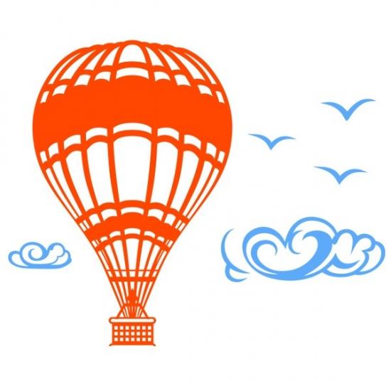 Фото - Наклейка на Стену Aeroball купить в киеве на подарок, цена, отзывы