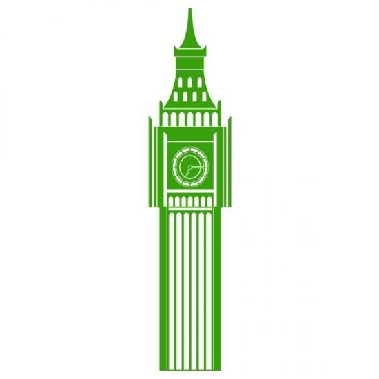 Фото - Наклейка на Стену Big Ben купить в киеве на подарок, цена, отзывы